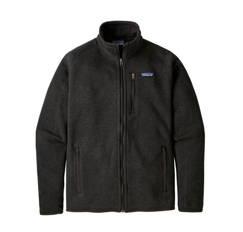 Hoods & Sweats Patagonia Better Sweater Jacket: Black - The Union Project, Cheltenham, free delivery