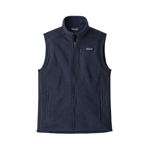 Hoods & Sweats Patagonia Better Sweater Vest: New Navy - The Union Project, Cheltenham, free delivery