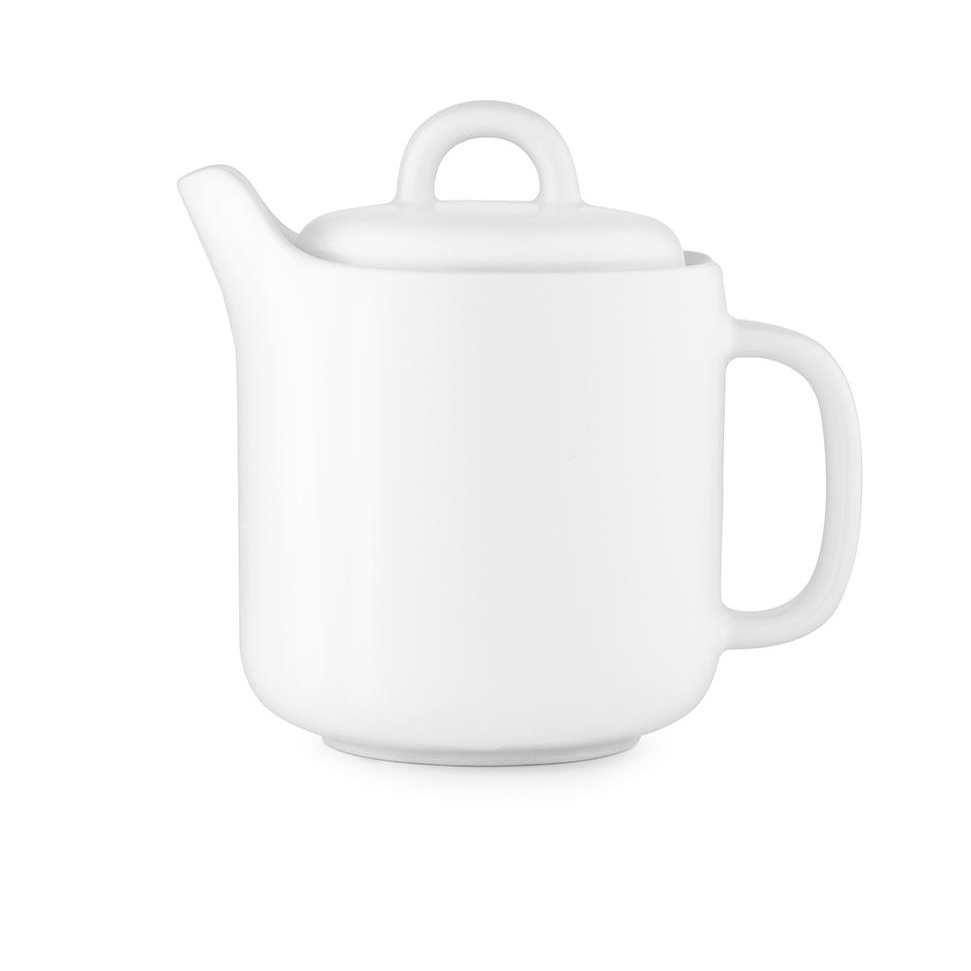 Coffeeware + Teaware Normann Bliss Teapot: White - The Union Project, Cheltenham, free delivery