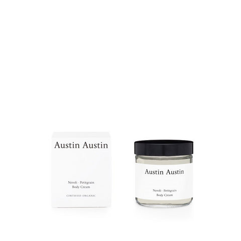 Skincare + Fragrance Austin Austin Neroli & Petitgrain Body Cream 120ml - The Union Project, Cheltenham, free delivery