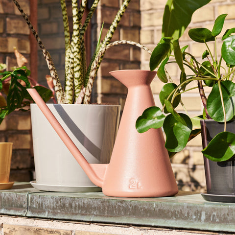 Hay Watering Can: Terracotta