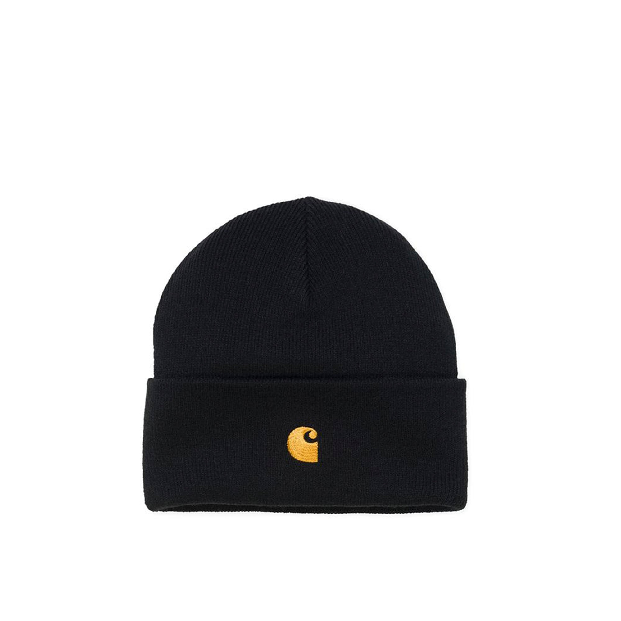 Carhartt WIP Chase Beanie: Black - The Union Project
