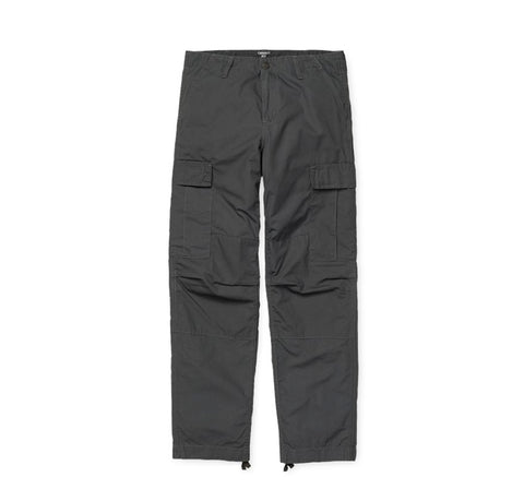 Trousers Carhartt WIP Regular Cargo Pant: Blacksmith Rinsed - The Union Project, Cheltenham, free delivery