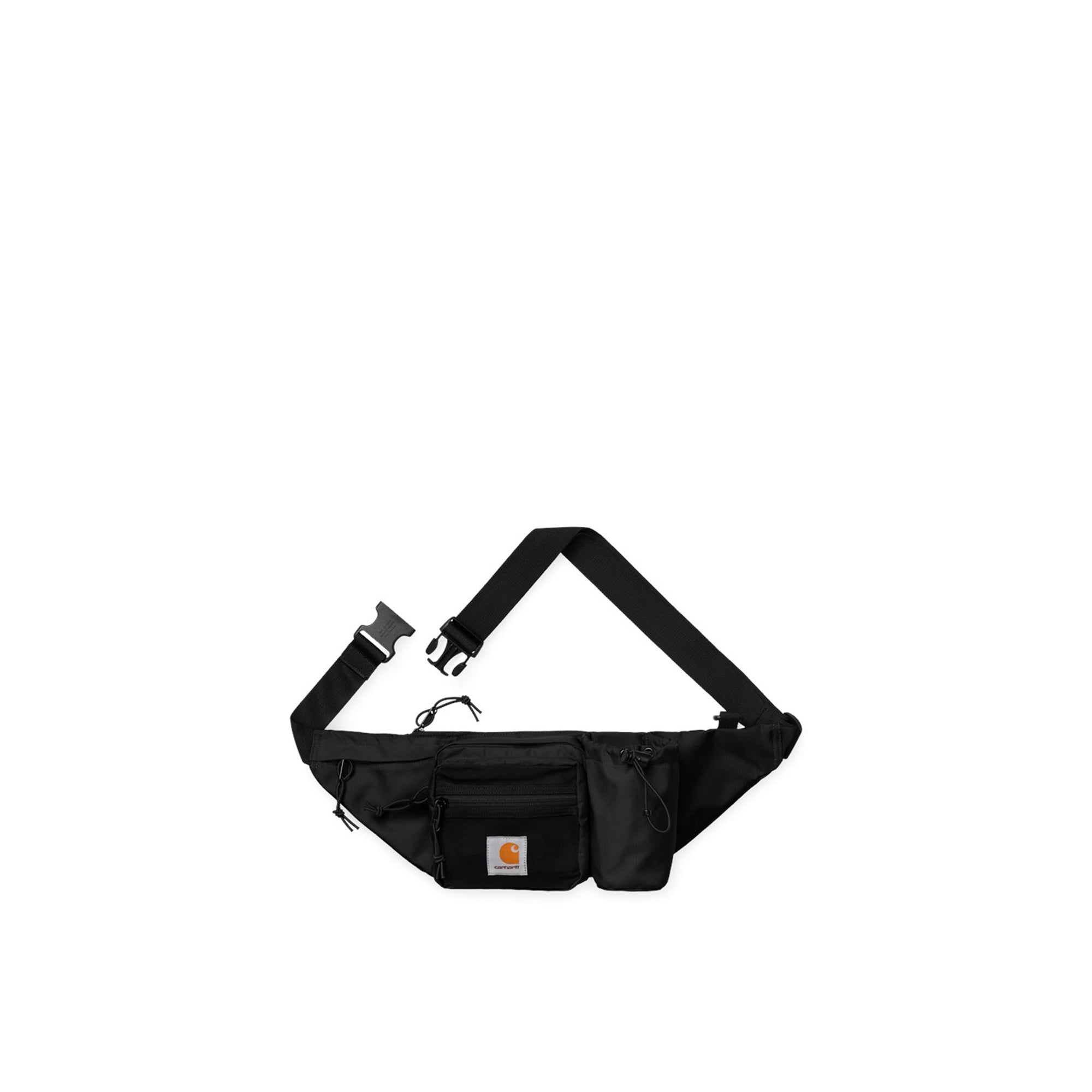 Carhartt WIP Delta Hip Bag: Black - The Union Project