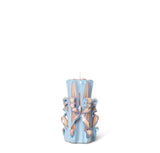 Home Fragrance + Candle Holders Ferm Living Hand Carved Candles: Light Blue - The Union Project, Cheltenham, free delivery