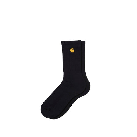 Carhartt WIP Chase Socks: Black - The Union Project