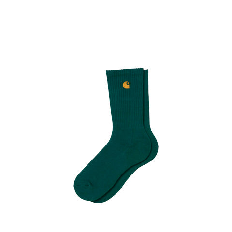 Carhartt WIP Chase Sock: Dark Fir