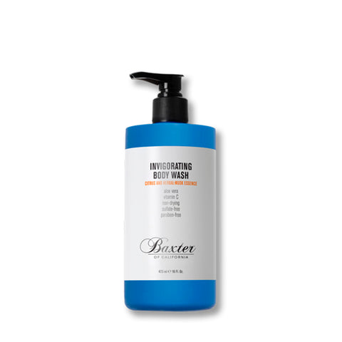 Skincare + Fragrance Baxter Invigorating Body Wash: Citrus/Herbal Musk (473ml) - The Union Project