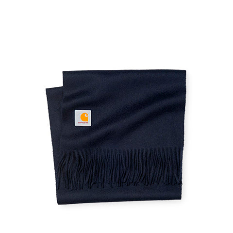 Accessories Carhartt WIP Clan Scarf: Dark Navy - The Union Project, Cheltenham, free delivery