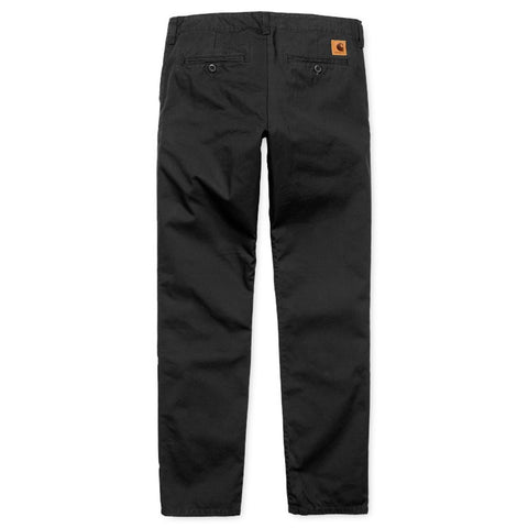 Trousers Carhartt WIP Club Pant: Black Rigid - The Union Project