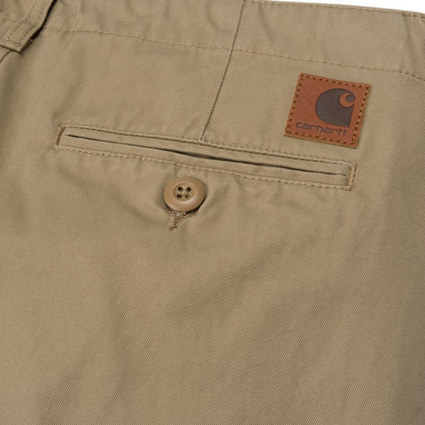 Trousers Carhartt WIP Club Pant: Leather Rigid - The Union Project