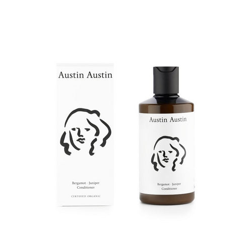 Skincare + Fragrance Austin Austin Bergamot Juniper Conditioner 250ml - The Union Project, Cheltenham, free delivery
