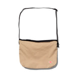 Danton Nylon Shoulder Bag: Sand Beige