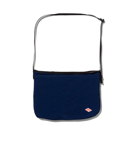 Danton Nylon Shoulder Bag: Navy