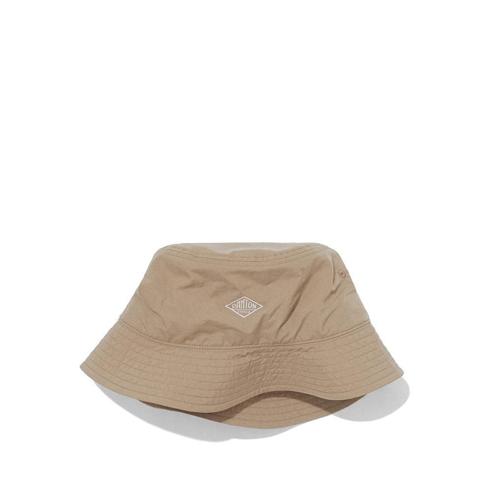 Danton Nylon Bucket Hat: Sand Beige - The Union Project