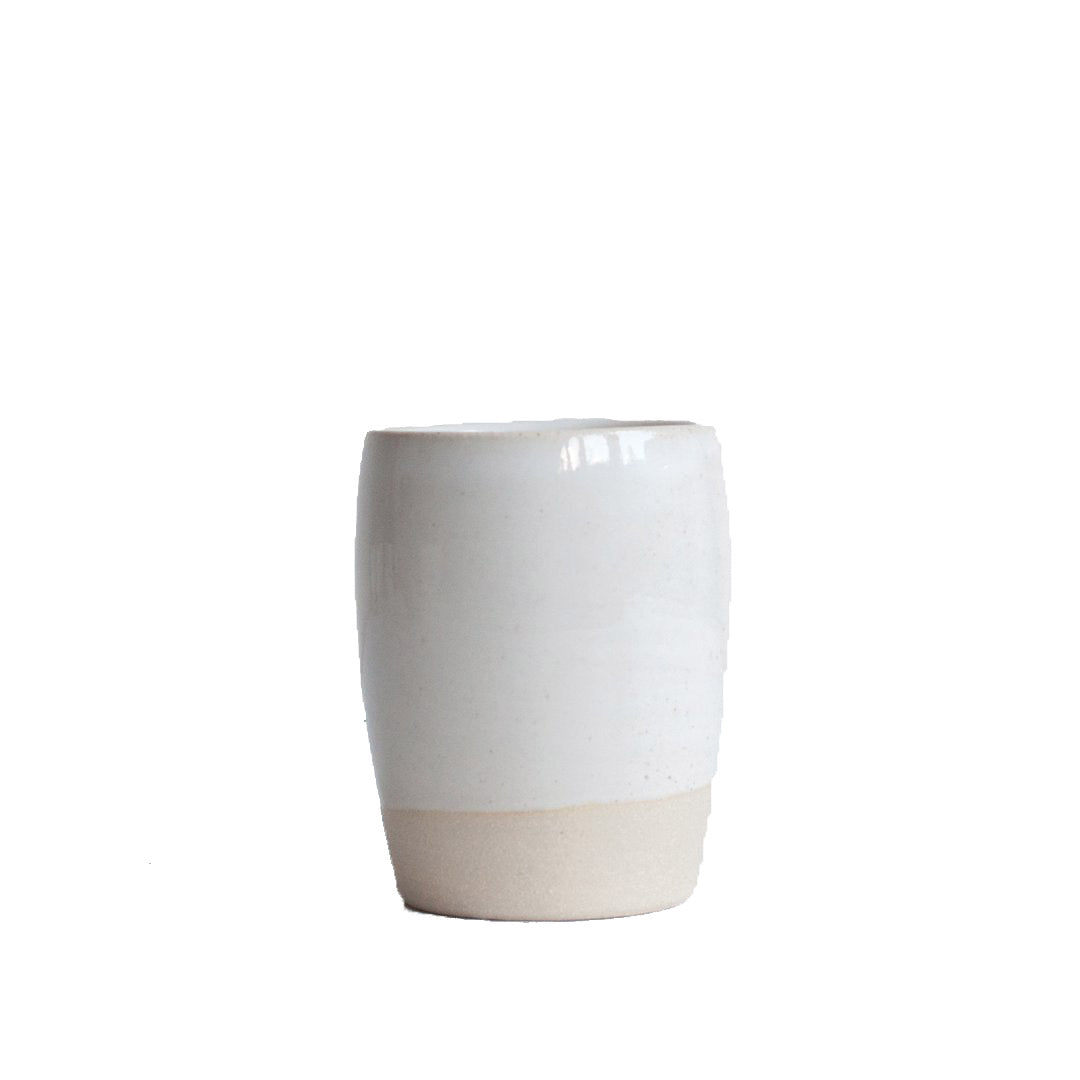 Dor & Tan Tumbler 8oz: Natural White - The Union Project