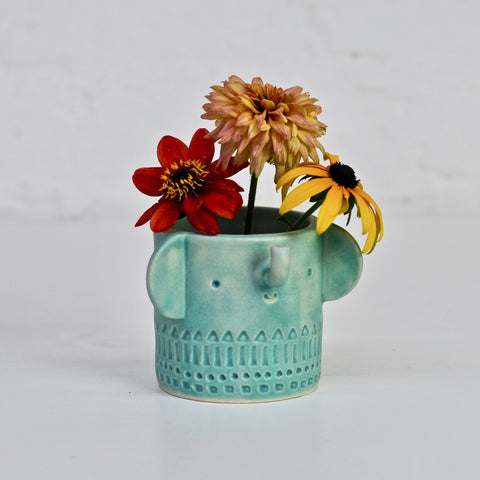 Plant Pots + Vases Atelier Stella Mini Elepahnt Pot: Ultramarine - The Union Project, Cheltenham, free delivery