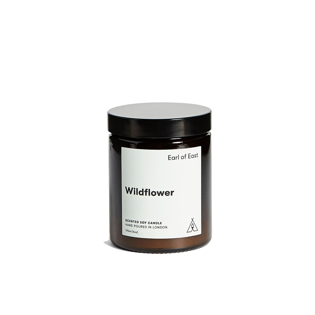 Candles Earl of East London Soy Wax Candle 170ml: Wildflower - The Union Project, Cheltenham, free delivery