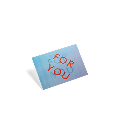 Greetings Cards + Gift Wrap HAY 3D Postcard: For You - The Union Project, Cheltenham, free delivery