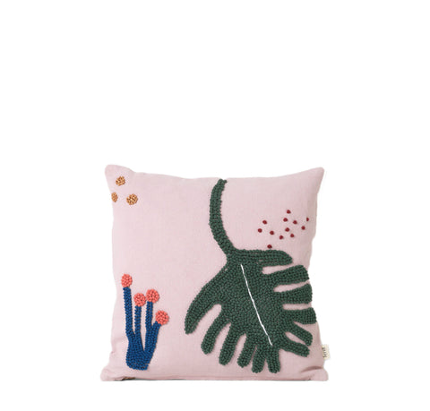 Cushions + Blankets Ferm Living Fruitcana Cushion: Leaf - The Union Project, Cheltenham, free delivery