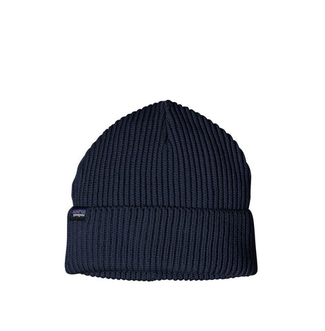 Headwear Patagonia Fishermans Rolled Beanie: Navy Blue - The Union Project, Cheltenham, free delivery