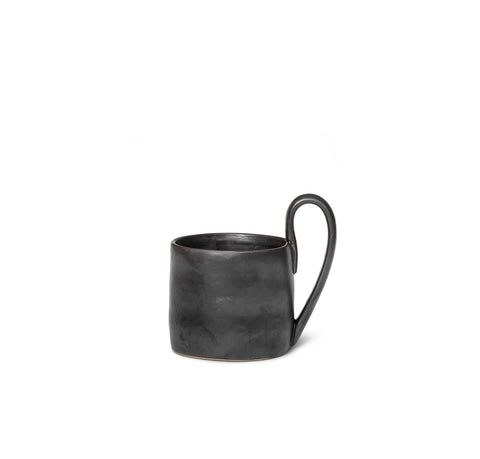 Mugs + Tumblers Ferm Living Flow Mug: Black - The Union Project, Cheltenham, free delivery
