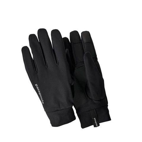 Wind Shield Gloves: Black