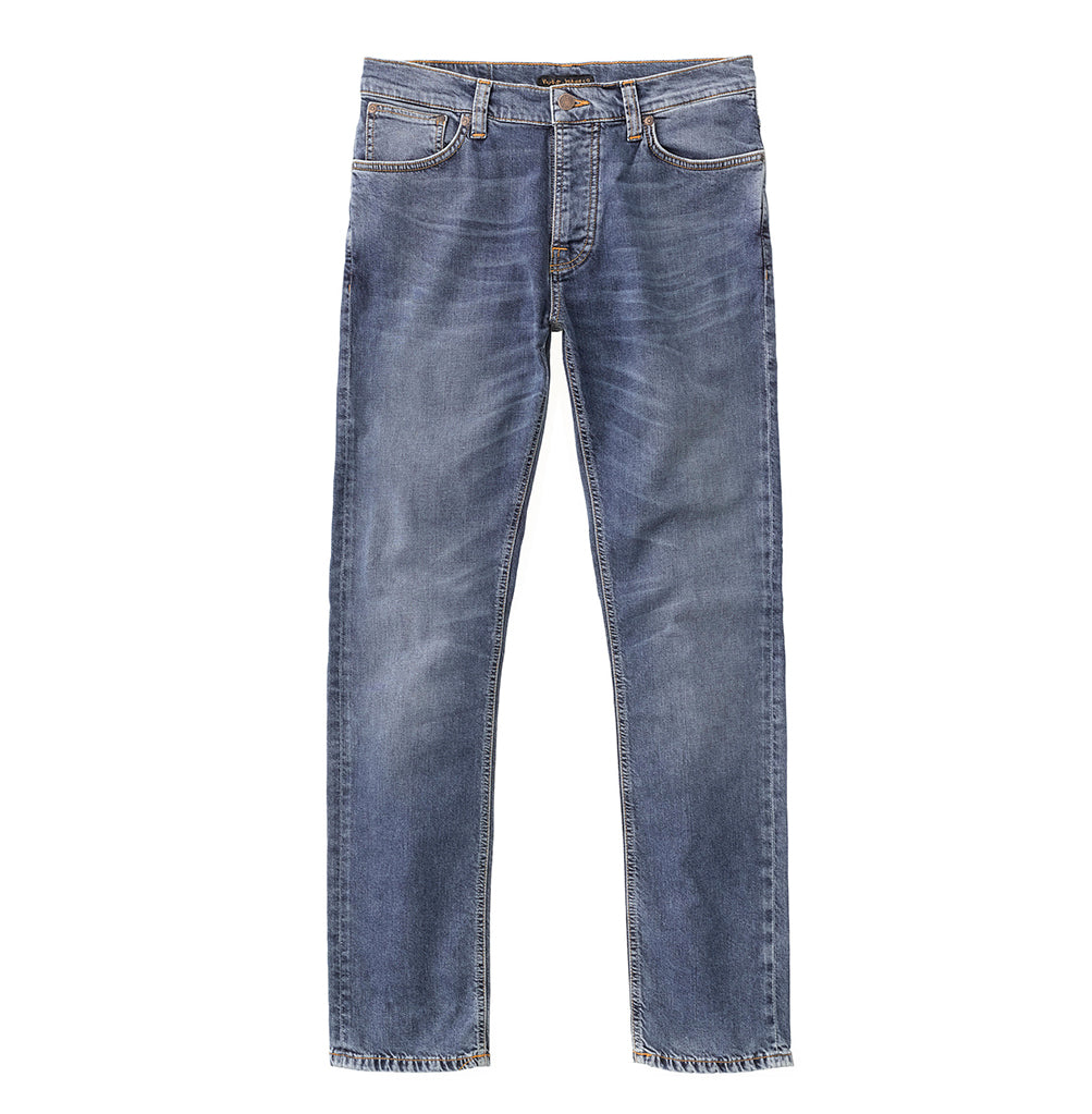 Nudie Jeans Grim Tim: Mid Blue Indigo - The Union Project