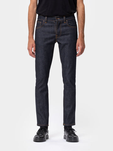 Nudie Jeans Grim Tim: Dry True Navy