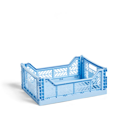 HAY Colour Crate M: Light Blue