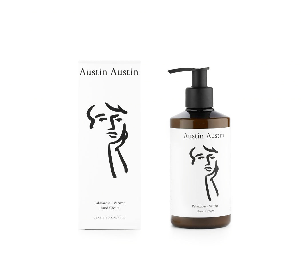 Skincare + Fragrance Austin Austin Palmarosa & Vetiver Hand Cream 250ml - The Union Project, Cheltenham, free delivery