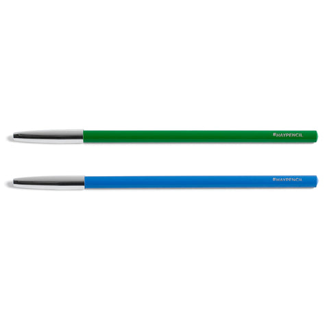 Stationary HAY Pencil Silvery Cap: Assorted - The Union Project, Cheltenham, free delivery