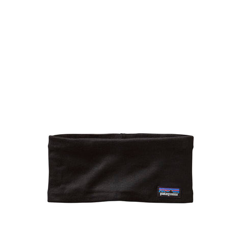 Patagonia Lined Knit Headband: Black