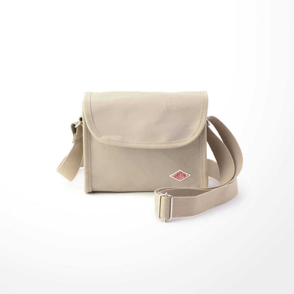 Danton Canvas Shoulder Bag: Sand Beige - The Union Project