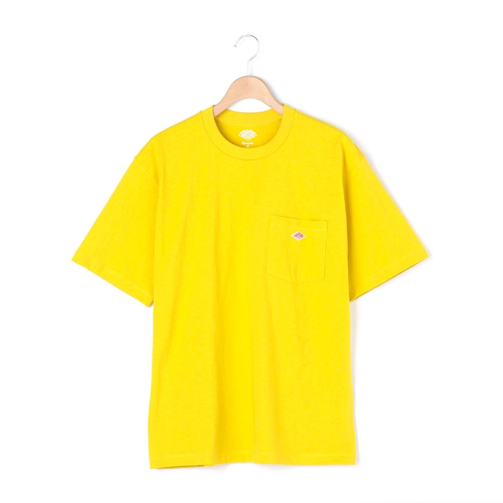 Danton Womens Pocket T-Shirt: New Yellow - The Union Project