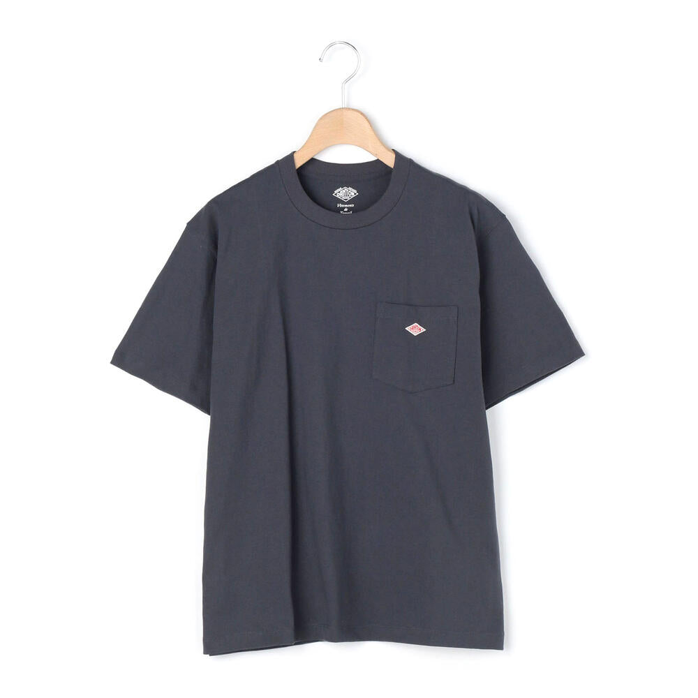 Danton Pocket T-Shirt: Grey Navy - The Union Project