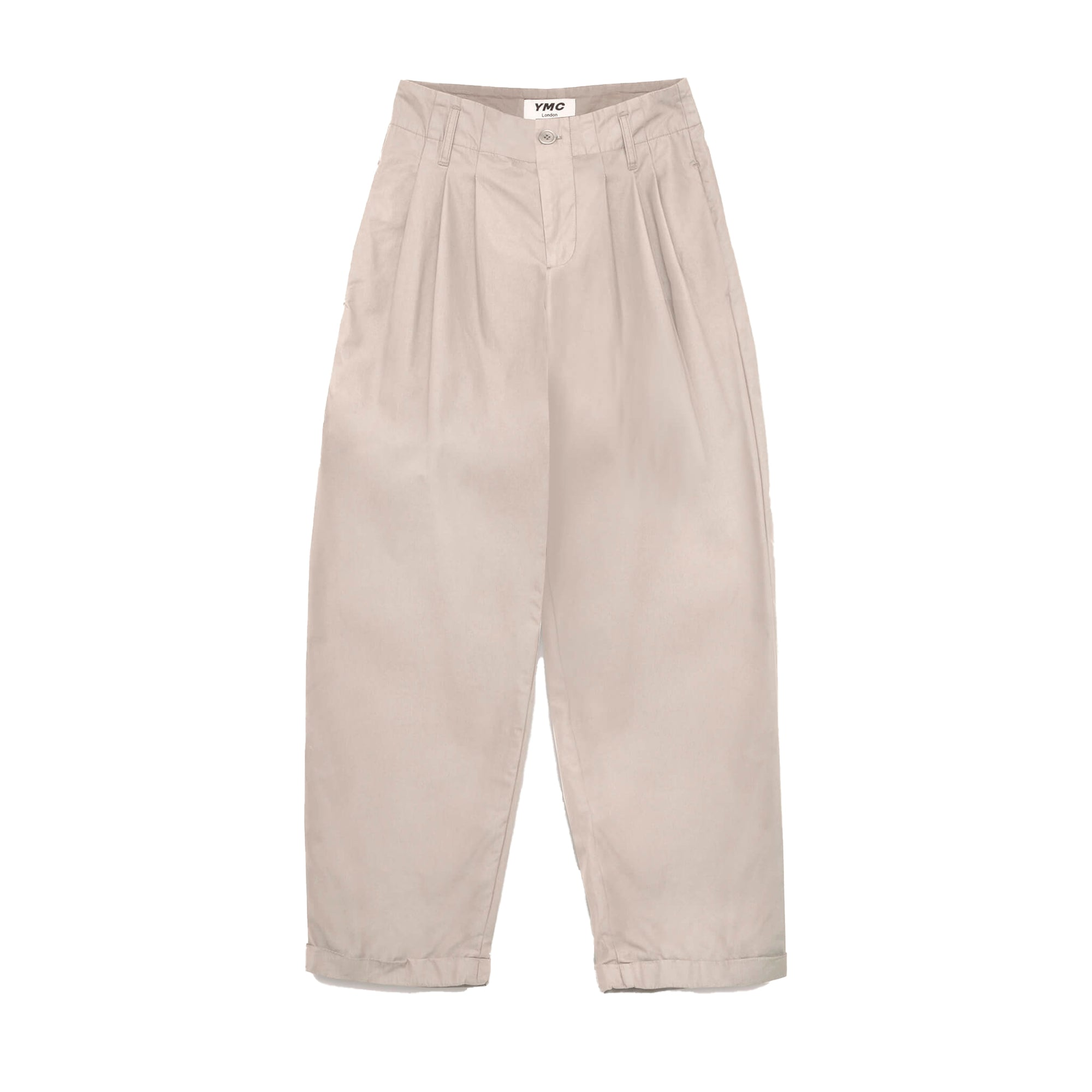 YMC Womens Keaton Trousers: Stone - The Union Project