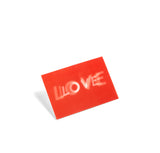 Greetings Cards + Gift Wrap HAY 3D Postcard: Love - The Union Project, Cheltenham, free delivery