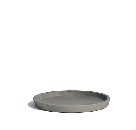 Plant Pots + Vases Ecopots Saucer for Amsterdam Pot Large (40cm): Grey - The Union Project, Cheltenham, free delivery
