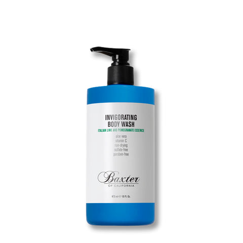 Skincare + Fragrance Baxter Invigorating Body Wash: Italian Lime/Pomegranite (473ml) - The Union Project, Cheltenham, free delivery