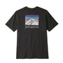 Patagonia Line Logo Ridge Pocket Tee: Black