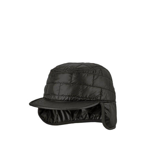 Headwear Patagonia Nano Puff Earflap Cap: Black - The Union Project, Cheltenham, free delivery