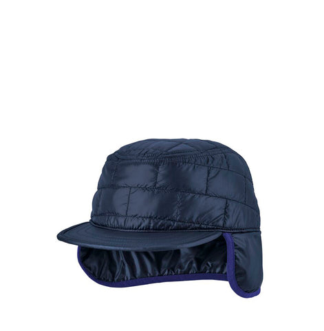 Headwear Patagonia Nano Puff Earflap Cap: Classic Navy - The Union Project, Cheltenham, free delivery