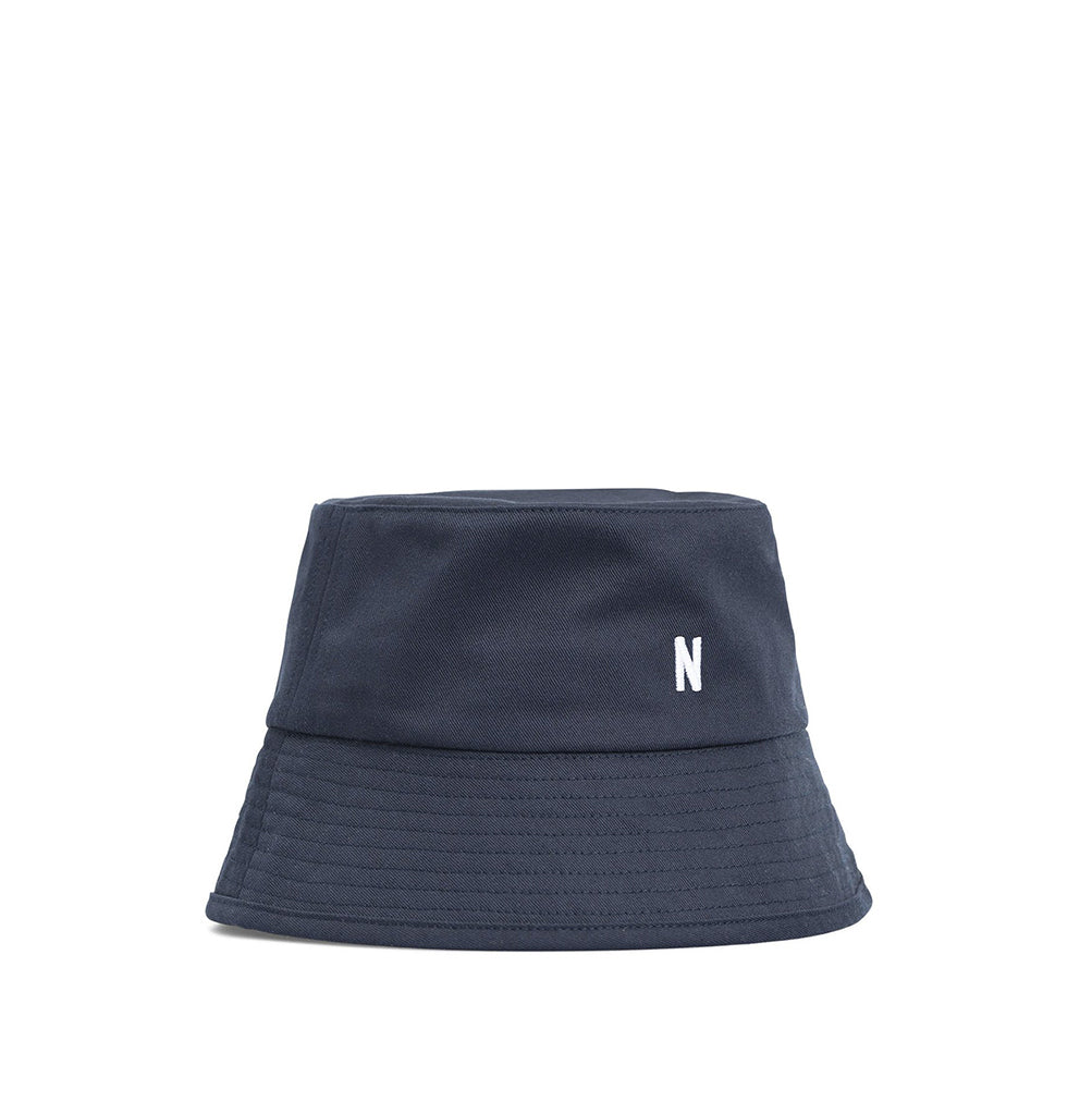 Norse Projects Twill Bucket Hat: Dark Navy - The Union Project