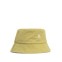 Norse Projects Twill Bucket Hat: Chartreus Green