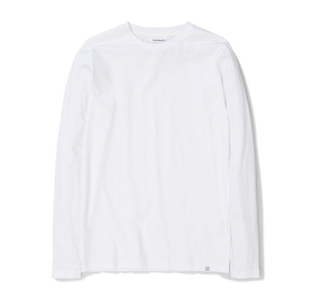 Norse Projects Niels Standard Longsleeve: White - The Union Project