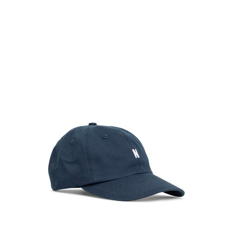 Headwear Norse Projects Light Twill Sports Cap: Dark Navy - The Union Project, Cheltenham, free delivery