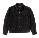 Outerwear Nudie Jeans Jerry Jacket: Dry Black Twill - The Union Project, Cheltenham, free delivery
