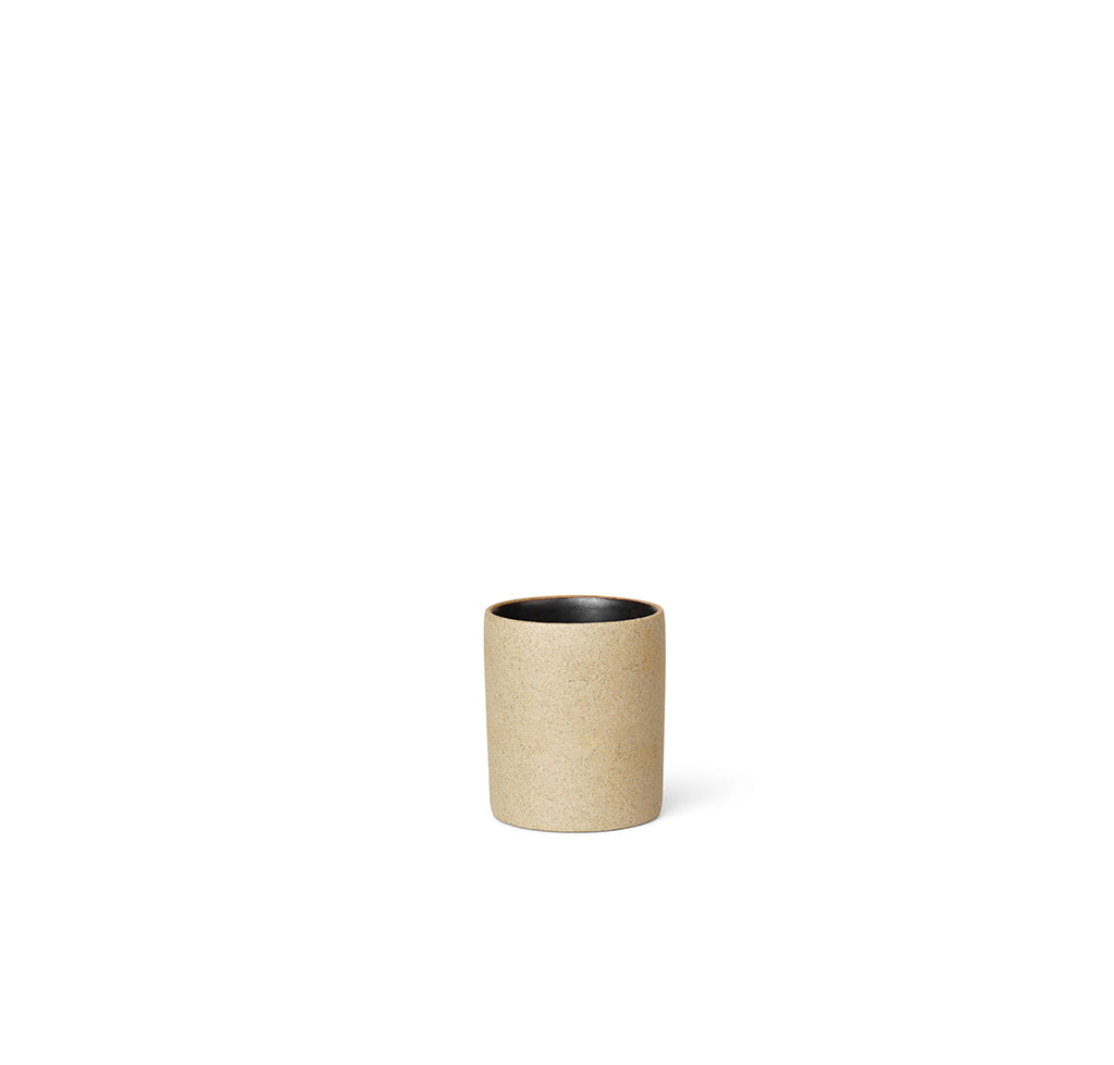 Ferm Living Bon Accessories Petite Cup: Black - The Union Project