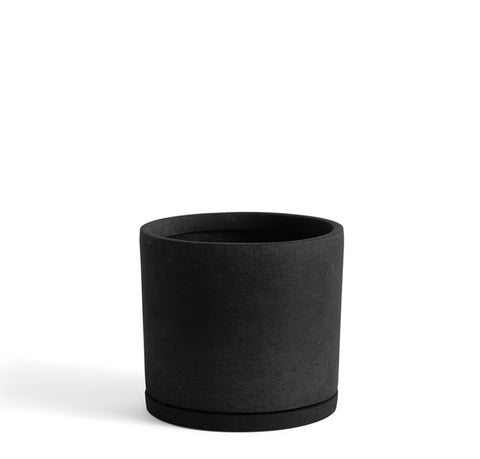 Plant Pots + Vases Hay Plant Pot w/ Saucer XXL: Black - The Union Project, Cheltenham, free delivery